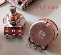 Bourns Low Friction 250K Split Shaft  Audio Taper Potentiometer Pot - 1X