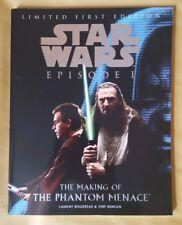 Star Wars. The Making of The Phantom Menace Book