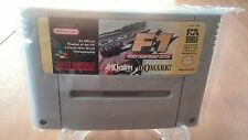 F1 WORLD CHAMPIONSHIP EDITION SUPER NINTENDO