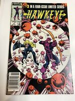 Hawkeye (1983) # 3 Canadian Price Variant (VF/NM) ! He Kicked Shield's Butt !