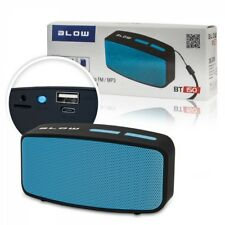 Mini Bluetooth Boxen Lautprecher Speaker Blau USB Micro SD MP3 Musik FM Radio