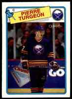 1988-89 O-Pee-Chee Pierre Turgeon RC . #194