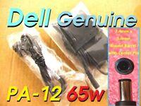 DELL GENUINE 65W PA-12 AC ADAPTER HA65NS1-00 0NH662 LA65NS0-00 DF263 w/ AC CORD