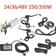 24V-48V 250W/350W Brushless Motor Controller LCD Panel Kit for E-bike Scooter