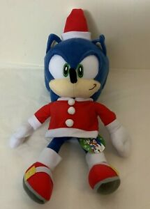 Joypolis Sonic The Hedgehog Christmas 15 inch Plush  (New) Sega Japan Red