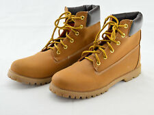 Rue 21 Womens Ankle Lace-up Boots Size XL 10 W21668 Orange Beige Flat