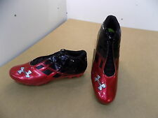 NEW Texas Tech Game Issued Under Armour Low Football Shoes (red/black)/ 13.5