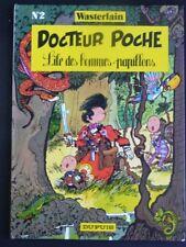 DOCTEUR POCHE tome 2 L'île des hommes-papillons EO BE