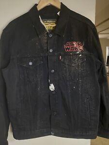 Levi's x Star Wars Darth Vader Denim Jacket Men Size L
