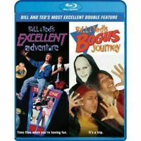 BILL & TED'S EXCELLENT ADVENTURE BOGUS JOURNEY BLU-RAY DOUBLE FEATURE BRAND NEW