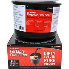 MR FUNNEL FUEL FILTER - F8 Quad Truck Car Petrol Diesel FloTool F8C 18.9L/Min
