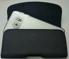 For GOOGLE NEXUS 6 BELT CLIP BELT LOOP  HOLSTER POUCH FITS A THIN CASE