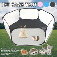 Foldable Portable Pet Playpen Open Indoor Outdoor Small Animal Cage Tent
