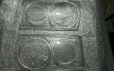 MERCEDES w123 EURO HEADLIGHT GLASSES NEW PAIR 1976-1984 models 300D 240D