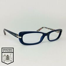 PRADA eyeglasses BLUE RECTANGLE glasses frame MOD: OAX-1O1