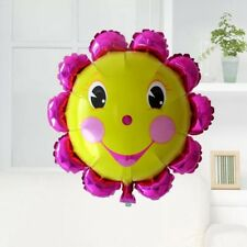59cm*62cm sunflower smiling face Foil Balloon Birthday wedding Party Decorations
