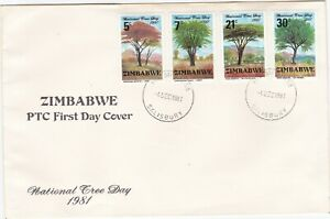 Rhodesia Zimbabwe First Day Cover TREES Africa