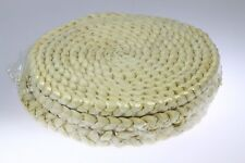 "Set of 3 Nature Perfect Rattan Placement Mats Coaster (18cm/7"")"