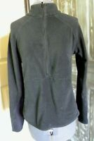 Women's Columbia Titanium Size S Black 1/2 Zip Fleece Pullover