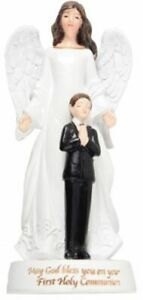 1st Holy Communion Angel Ornament Communion Gift Boys White Angel