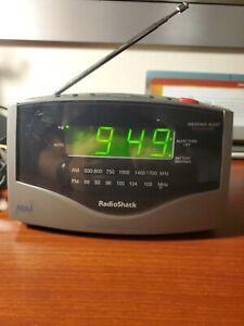 RadioShack NOAA 7-Channel Weather Alert AM/FM Digital Alarm Clock Radio-12-1627