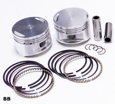 JE Piston DISH 9.5:1 STD PR Harley 86-04 883/1200 Sportster Conversion Kit