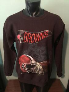 Vintage Cleveland Browns 1994 Nutmeg Mills Sweatshirt Mens Medium 50/50