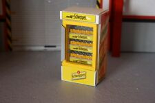 frigo SCHWEPPES  1/18 pour diorama atelier garage distributor  drink no car