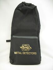 White's Metal Detector Deluxe Black Backpack, 3 Pockets