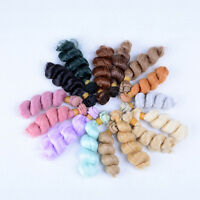 15cmx100cm DIY High-temperature Wire Wig Curly Hair for Doll 1/3 1/4 1/6 BJD TO