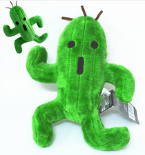 "Final Fantasy Cactuar 10"" Plush Toy Cacti Stuffed Cactus Doll New W/ Tag gift"