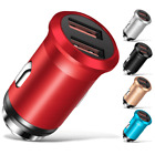 2-Port USB Fast Charging Rapid Car Charger Adapter for iPhone Android LG Samsung