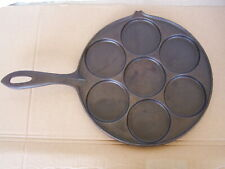 JOTUL MADE IN NORWAY CAST IRON PLETT PAN SWEDISH PANCAKE NICE CLEAN CONDITION
