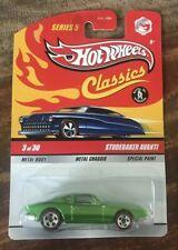 Hot Wheels Classics ~ Series 5 ~ Studebaker Avanti (Green) ~ MINT ON CARD