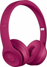 Beats by Dr. Dre Solo 3 Wireless Headphones Neighborhood Collection - Brick Red