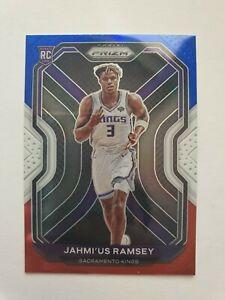 Jahmi'us Ramsey RC Red White Blue 2020-21 Panini Prizm Holo Rookie card