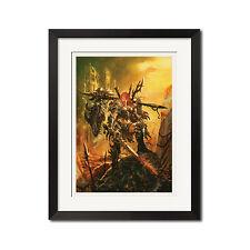 Diablo Barbarian Warrior Poster Print 0672