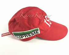 NEW WITH TAGS SUPREME OG 2005 STADIUM CAP WATERPROOF COTTON HAT RED