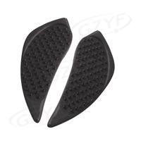 Fuel Gas Tank Side Pad Knee Grip Decal Black Kit Fits Suzuki GSXR 1000 2009-2015