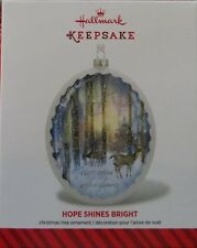 NIB 2014 Hallmark Keepsake Ornament Hope Shines Bright