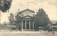 France CPA Paris Église Bercy, Place Nativité (f1207)