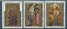 1970 TCHAD PA N°75/778** Tableaux, Noël, Religion, Christmas Paintings CHAD MNH