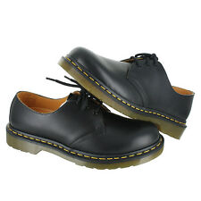 Dr. Martens 1461M 3 Eye Gibson Black R11838002 Men US size 12, EUR 46