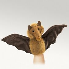 Folkmanis Puppets Plush LITTLE BAT Hand Puppet ~NEW~