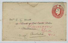 AUSTRALIA--Train Post Office Cancel 1912