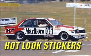 1:18 Peter Brock MISSING Vinyl Decals 1980 Bathurst Winner VC Commodore