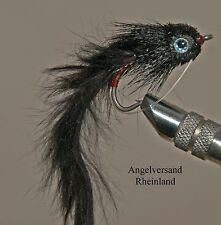 Hechtfliege Bunny Bug Black #2/0 top für Hecht & Zander byAngelversand Rheinland