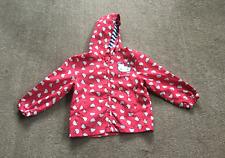 HELLO KITTY Lightweight Showerproof Coat Mac with Hood 3/4 years Girl Child