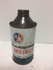 BA Oil Gas Line Anti-freeze 12 Fluid Ounces. British America Oul Company