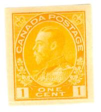 Canada - George V - Cent orange imperforate - MH - Scott.136